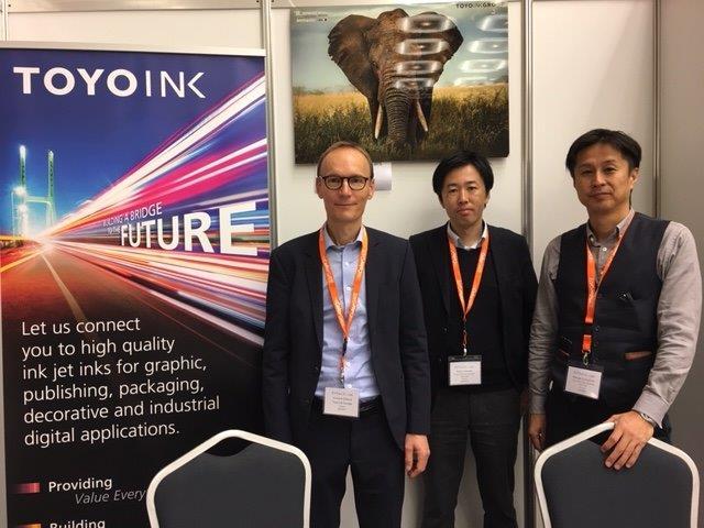 Participation à « Ink Jet Conference 2019 », Düsseldorf, 29-30 octobre 2019