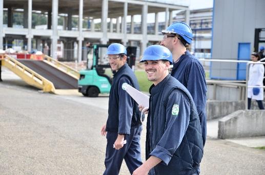 Investissement nouveau bâtiment pour la production d'encres, Oissel